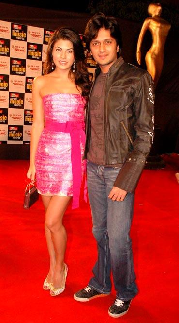 Jacqueline Fernandez and Ritesh Deshmukh