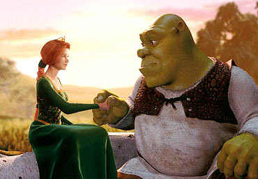A scene from Shrek