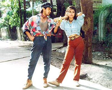 A scene from Rangeela