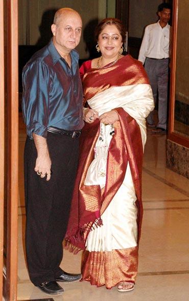 Anupam and Kirron Kher