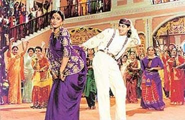 A scene from Hum Aapke Hai Kaun