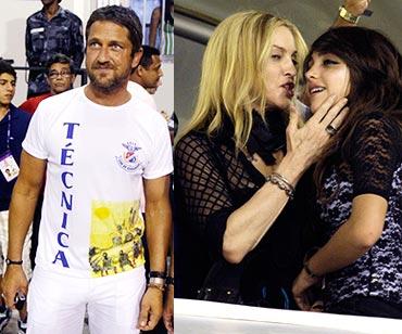 Gerard Butler, Madonna and Lourdes