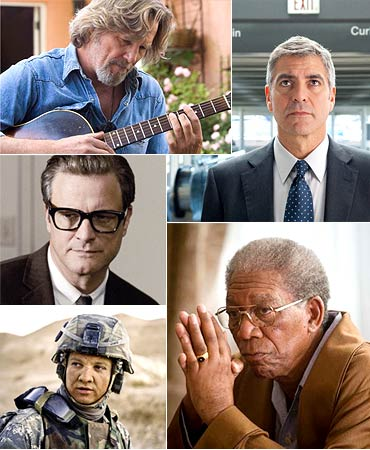 Jeff Bridges, George Clooney, Morgan Freeman, Jeremy Renner, Colin Firth