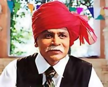 A scene from Chacha Chaudhary