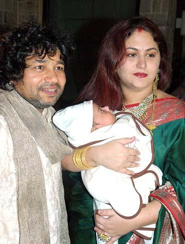 Kailash, Sheetal and Kabir Kher