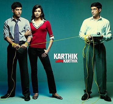The poster of Karthik Calling Karthik
