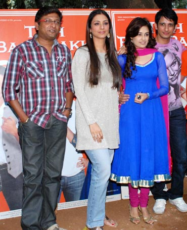 Kedar Shinde, Tabu, Uvika Chaudhary and Sharman Joshi