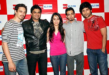 Siddharth Kher, R Madhavan, Shraddha Kapoor, Dhruv and Vaibhav Talwar.