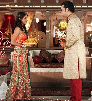 Rashmi Rawani and Rahul Mahajan