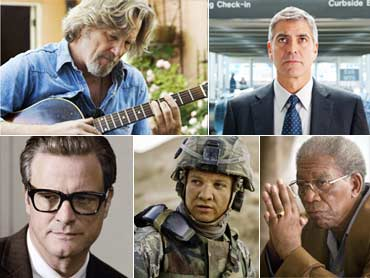 Jeff Bridges, George Clooney, Colin Firth, Jeremy Renner and Morgan Freeman,
