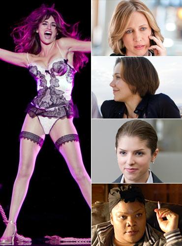 Penelope Cruz, Vera Farmiga, Maggie Gyllenhaal, Anna Kendrick and Mo'Nique