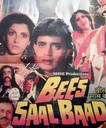 A poster of Bees Saal Baad