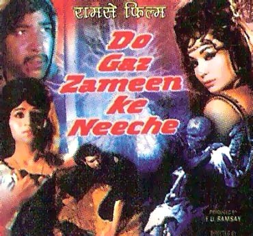 A poster of Do Gaz Zameen Ke Neeche