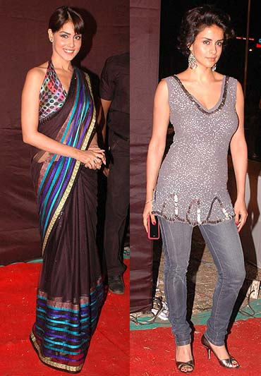 Genelia D Souza and Gul Panag