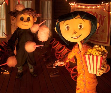 A scene from Coraline