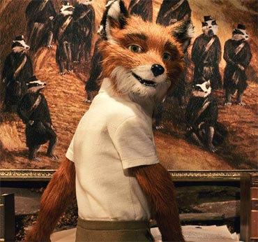 A scene from Fantastic Mr Fox