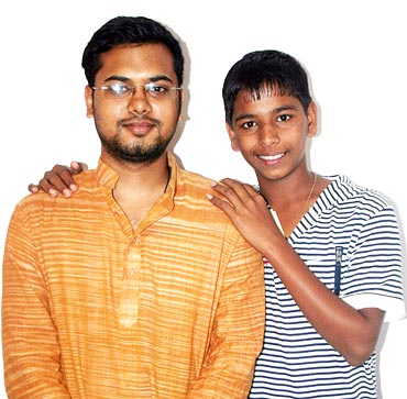 Achin Jain and Sagar Salunke
