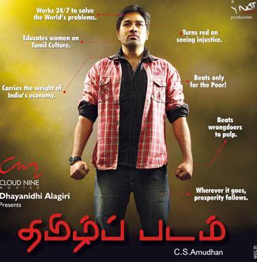 The Tamizh Padam poster