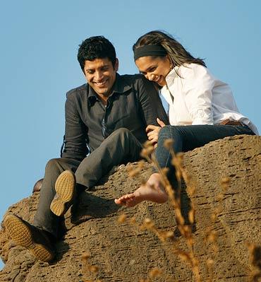A scene from Karthik Calling Karthik