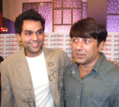 Abhay Deol and Sunny Deol