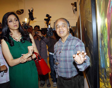 Sridevi and J P Singhal