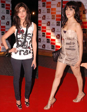 Shruti Hassan and Genelia