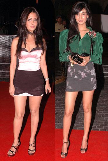 Riya Sen and Sonal Chauhan