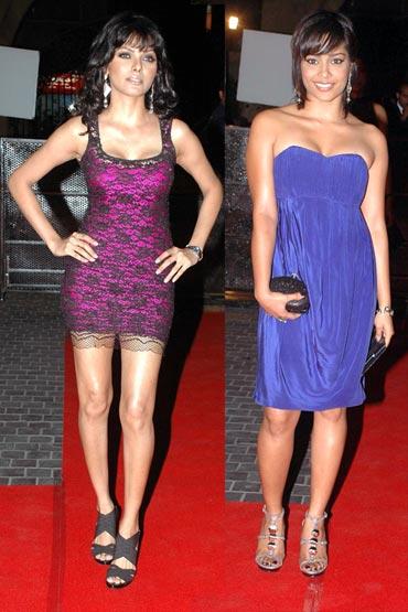 Sherlyn Chopra and Shahana Goswami