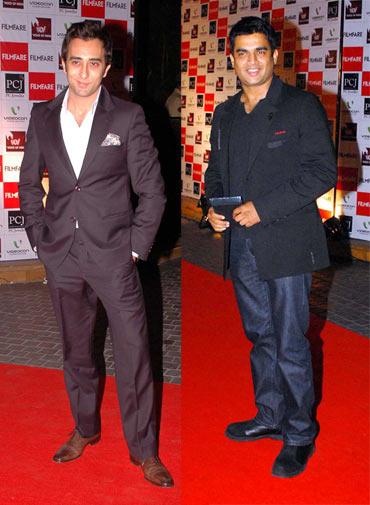 Rahul Khanna and R Madhavan