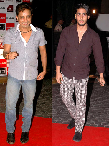 Sukhwinder Singh and Prateik Babbar