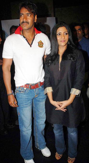 Ajay Devgn and Konkona Sen Sharma