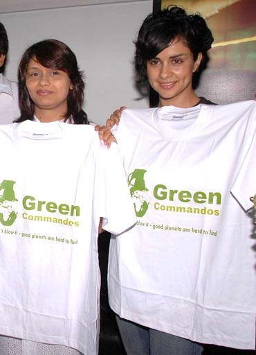 Pallavi Joshi and Gul Panag