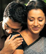 A scene from Vinnaithaandi Varuvaaya
