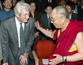 Richard gere book on buddhism
