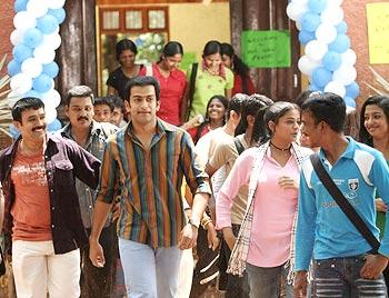A scene from Puthiya Mugham