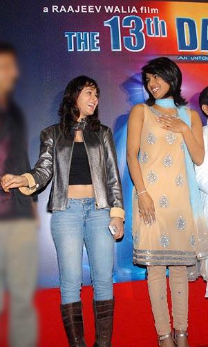 Priyanka Kothari and Priyanka Chopra