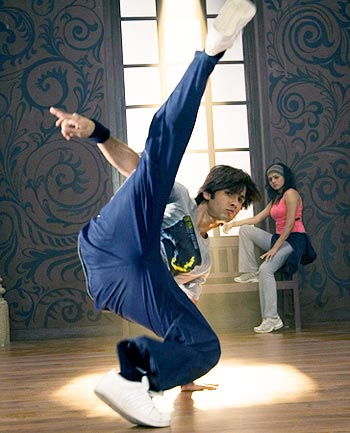 A scene from Chance Pe Dance