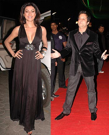 Sushmita Sen and Fardeen Khan