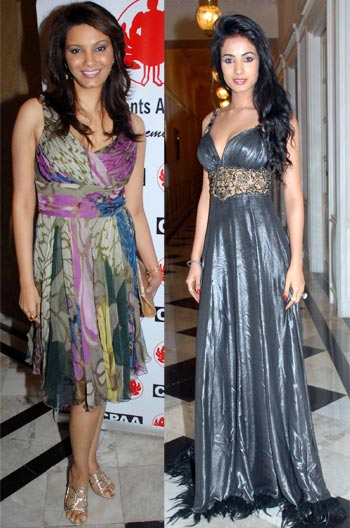 Diana Hayden and Sonal Chauhan