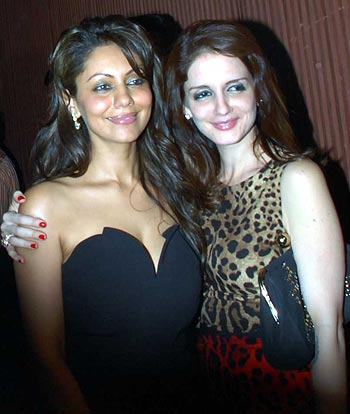 Gauri Khan and Suzanne Roshan