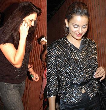 Preity Zinta and Kangna Ranaut