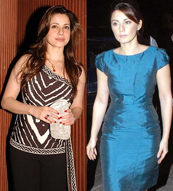Neelam and Minissha Lamba