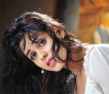 Genelia in a scene from Katha