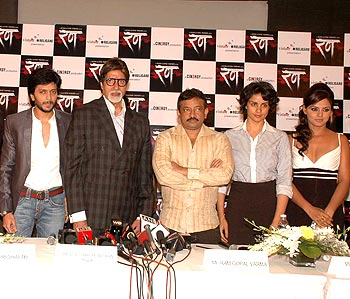 Ritesh Deshmukh, Amitabh Bachchan, Ram Gopal Varma, Gul Panag and Neetu Chandra