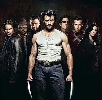 A scene from X-Men: Wolverine