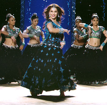 A scene from Aaja Nachle