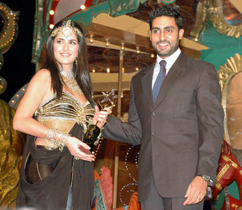 Katrina and Abhishek