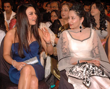 Preity Zinta and Manyata Dutt