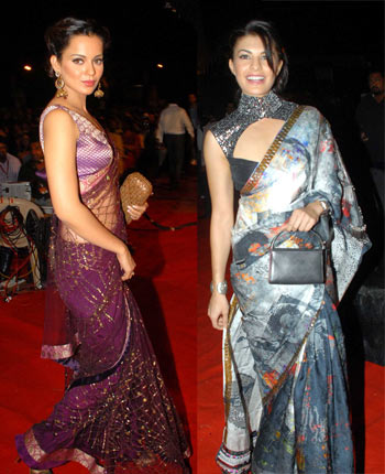 Kangna and Jacqueline