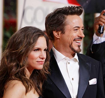 Robert Downey Jr and wife Susan